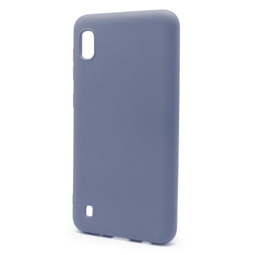 Liquid Silicon inos Samsung A105F Galaxy A10 L-Cover Blueberry