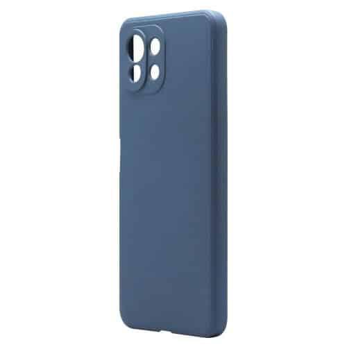 Liquid Silicon inos Xiaomi Mi 11 Lite/ Mi 11 Lite 5G L-Cover Blue Raf