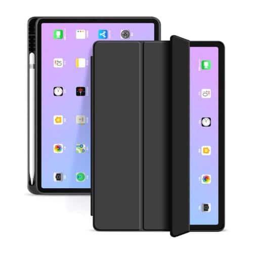 Θήκη Flip Smart inos Apple iPad Air 4 2020 Μαύρο