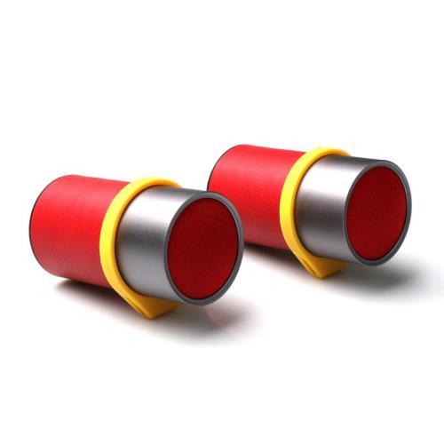 Portable Paired Bluetooth Speakers Puridea i6 6W Red (2 pcs)