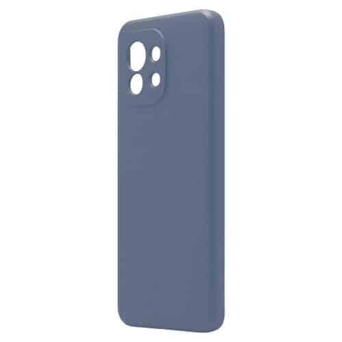Θήκη Liquid Silicon inos Xiaomi Mi 11 5G L-Cover Μπλε Ραφ