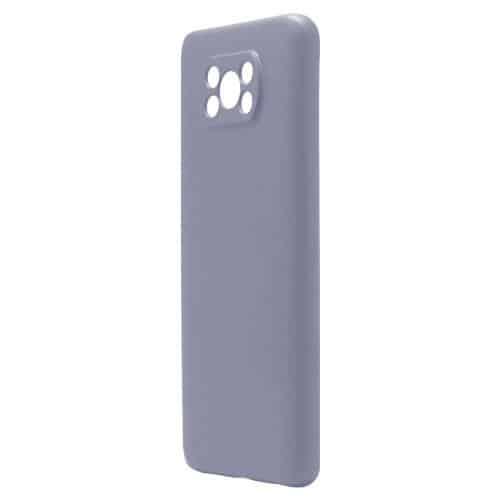 Liquid Silicon inos Xiaomi Poco X3 NFC/ Poco X3 Pro L-Cover Blueberry