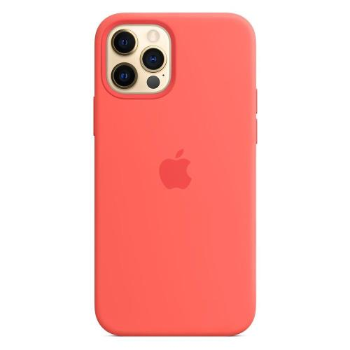 Silicon Case with MagSafe Apple MHL03 iPhone 12/ 12 Pro Pink Citrus