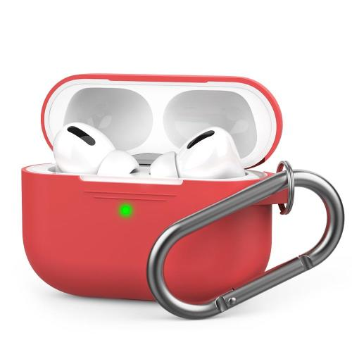 Silicon Case AhaStyle PT-P1 Apple AirPods Pro Premium with Hook Red