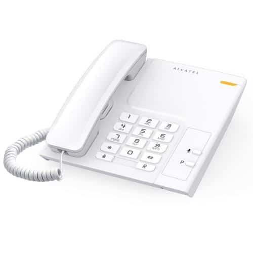 Land Line Phone Alcatel Temporis 26 White