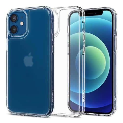 Θήκη TPU & PC Spigen Quartz Hybrid Apple iPhone 12/ 12 Pro Διάφανο