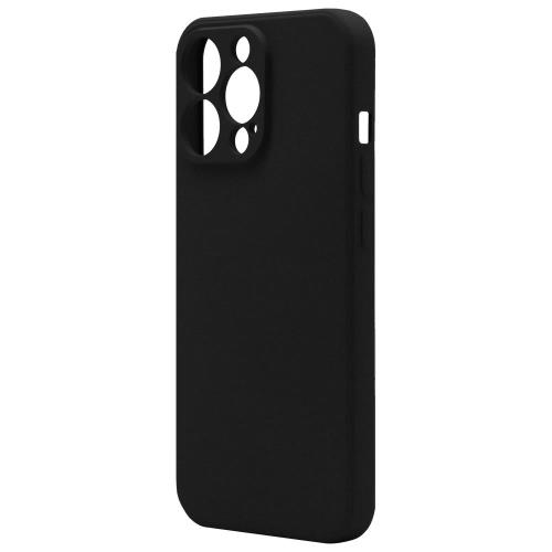 Liquid Silicon inos Apple iPhone 13 Pro Max L-Cover Matte Black