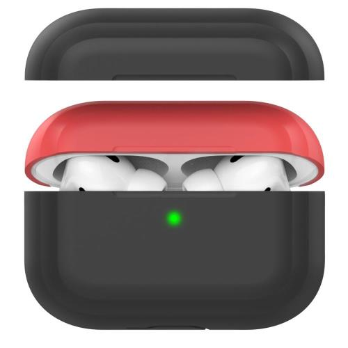 Silicon Case AhaStyle PT-P2 Apple AirPods Pro DuoTone Black-Red