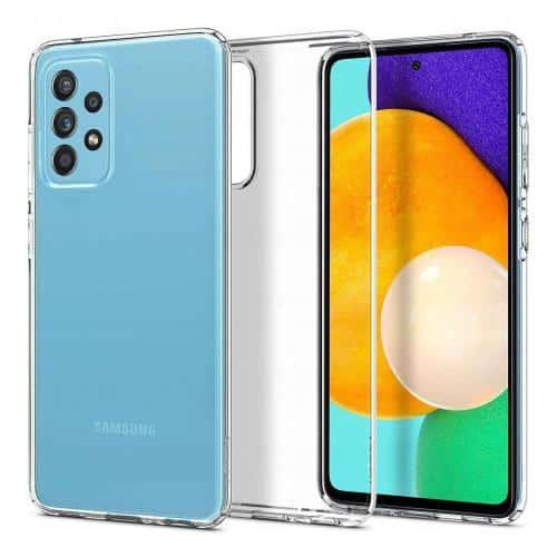 TPU Spigen Liquid Crystal Case Samsung A725F Galaxy A72 4G/ A726B Galaxy A72 5G Crystal Clear
