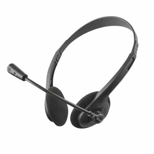 Headset Stereo Trust Primo II Black