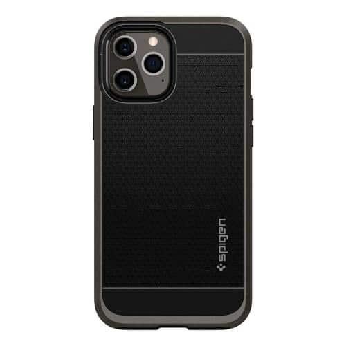 TPU & PC Back Cover Case Spigen Neo Hybrid Apple iPhone 12 Pro Max Gunmetal