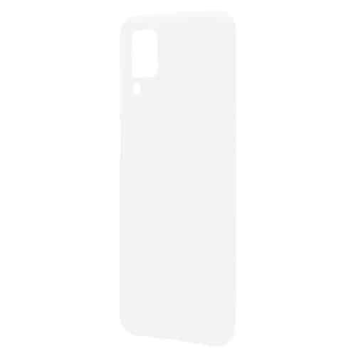 Liquid Silicon inos Samsung A125F Galaxy A12 L-Cover Powder White