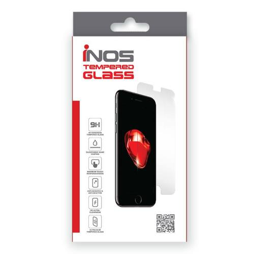Tempered Glass Full Face inos 0.33mm Samsung N950F Galaxy Note 8 3D Case Friendly Round Glue Black