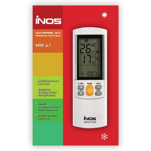 Remote Control inos for A/C AIRCO PLUS 4000 in 1