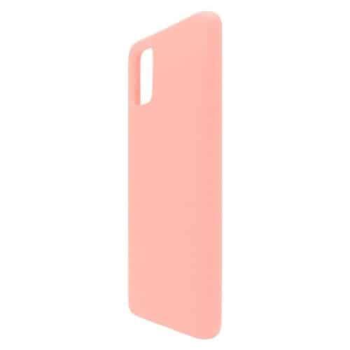 Θήκη Liquid Silicon inos Samsung A515F Galaxy A51 L-Cover Σομόν