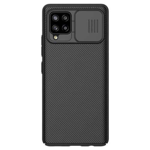 Soft TPU & PC Back Cover Case Nillkin Camshield Samsung A426B Galaxy A42 5G Black