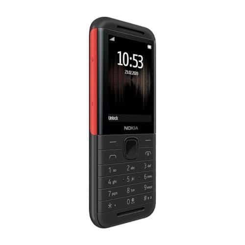Κινητό Τηλέφωνο Nokia 5310 (2020) (Dual SIM) Μαύρο-Κόκκινο