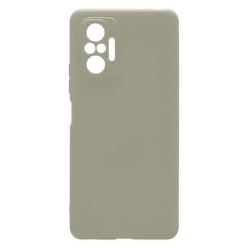 Θήκη Soft TPU inos Xiaomi Redmi Note 10 Pro S-Cover Γκρι