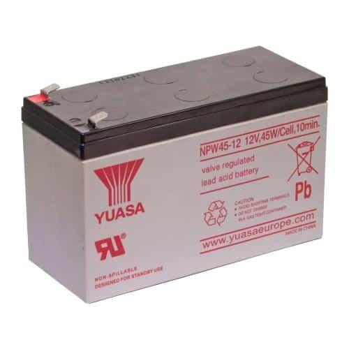 Μπαταρία SLA VRLA Yuasa NPW45-12 12V 9Ah (1 τεμ) (Ασυσκεύαστο)