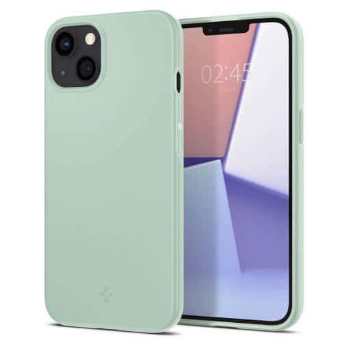 Θήκη TPU Spigen Thin Fit Apple iPhone 13 mini Φυστικί