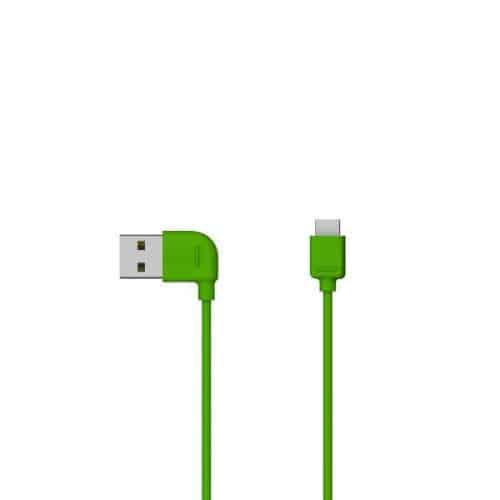 Καλώδιο Σύνδεσης USB 2.0 Osungo USB A σε Micro USB 1m Πράσινο