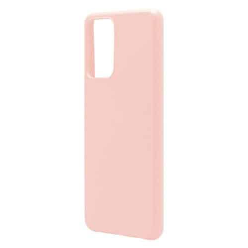 Θήκη Liquid Silicon inos Samsung A525F Galaxy A52/ A526B Galaxy A52 5G/ A528B Galaxy A52s 5G L-Cover Σομόν