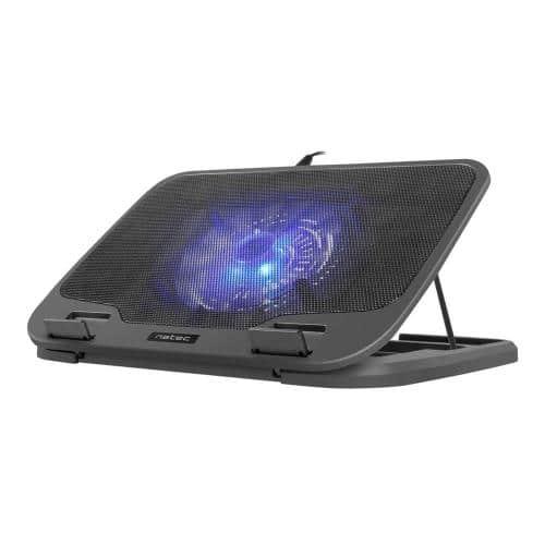"Natec Cooling Stand IORA NPL-1322 1 Fan for Laptop 15.6"" - 17.0"" Black"