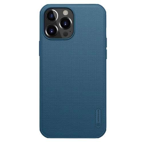 Θήκη Soft TPU & PC Nillkin Super Frosted Shield Pro Apple iPhone 13 Pro Max Μπλε