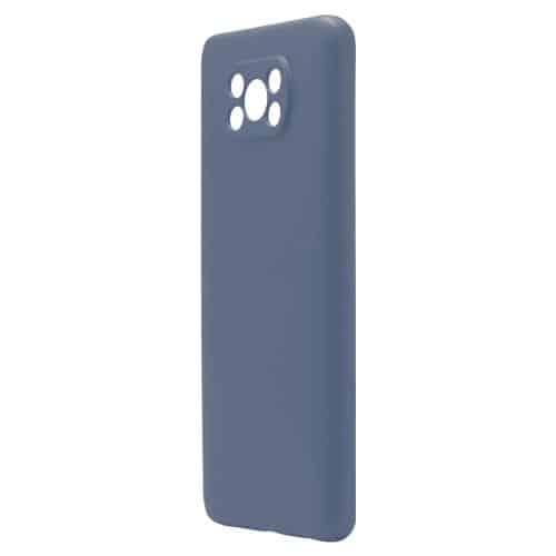 Θήκη Liquid Silicon inos Xiaomi Poco X3 NFC/ Poco X3 Pro L-Cover Μπλε Ραφ