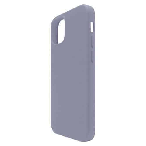 Θήκη Liquid Silicon inos Apple iPhone 12 Pro Max L-Cover Γκρι-Μπλε