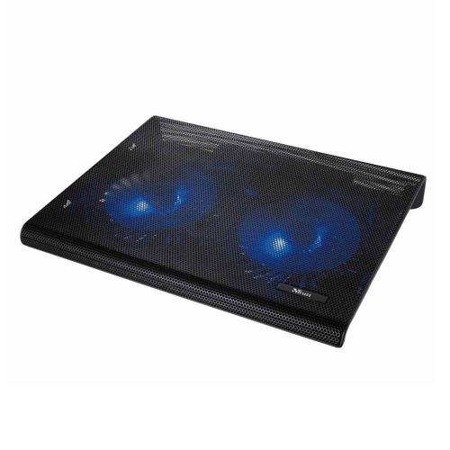 Trust Notebook Cooling Stand Azul 2 Fan for Laptop up to 17.3΄΄ Black