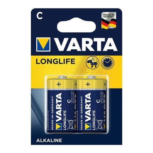Battery Alkaline Varta Longlife C LR14 (2 pc)