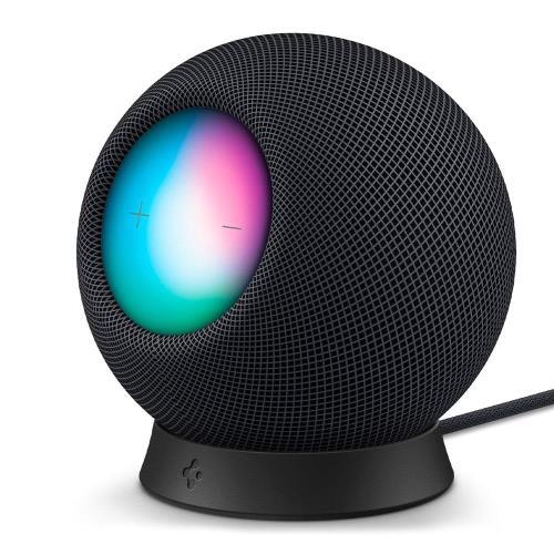 Desktop Stand Spigen Silicone Fit for Apple HomePod Mini Black