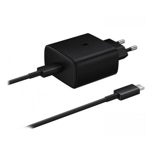 Travel Fast Charger Samsung EP-TA845 2.25A 45W & USB C Cable Black