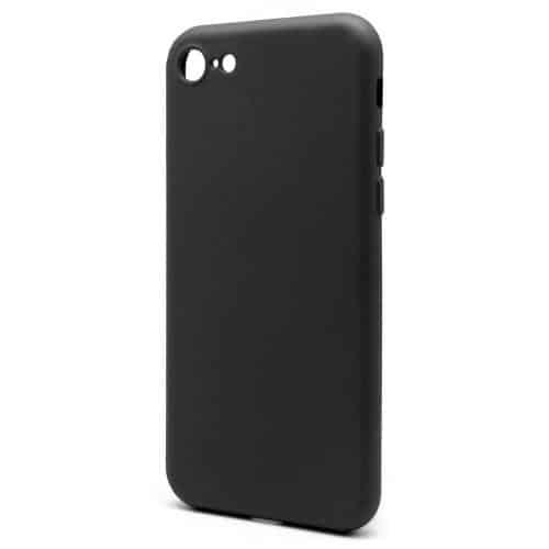 Liquid Silicon inos Apple iPhone 8/ iPhone SE (2020) L-Cover Matte Black