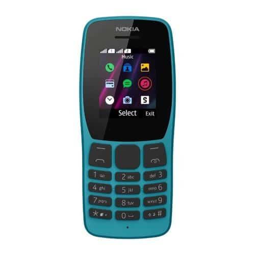 Κινητό Τηλέφωνο Nokia 110 (2019) (Dual SIM) Μπλε