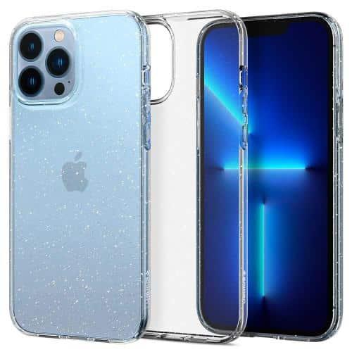 Θήκη TPU Spigen Liquid Crystal Apple iPhone 13 Pro Glitter Διάφανο