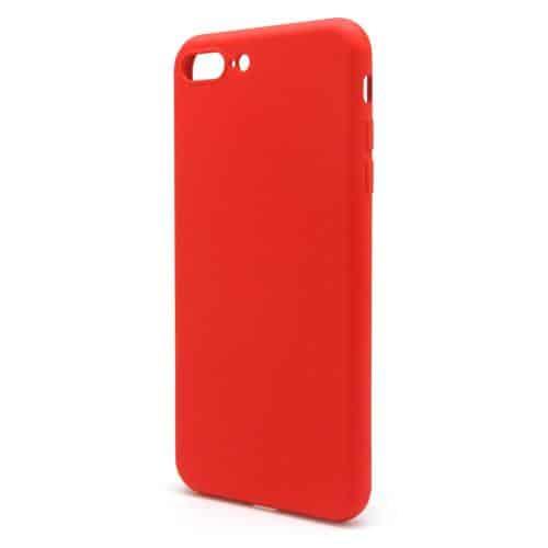 Θήκη Liquid Silicon inos Apple iPhone 7 Plus/ iPhone 8 Plus L-Cover Κόκκινο